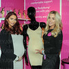 Amy Childs attends Baby show at ExCel.