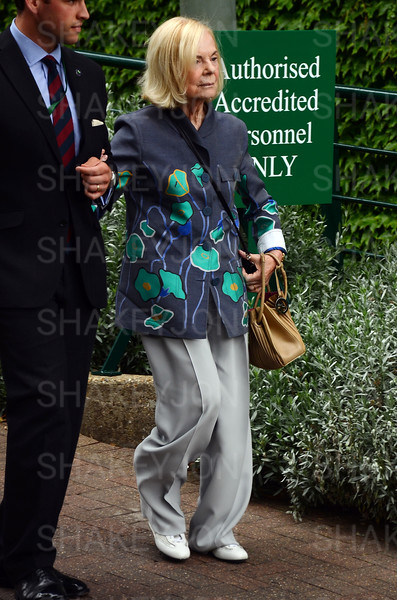 Celebrity arrivals Friday week 2 Wimbledon Lawn Tennis Championship