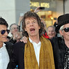 "Rolling Stones attend ""Exhibitionism"" opening at Saatchie Gallery."