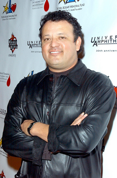 Paul Rodriguez in the Press area at the Neil Bogart Memorial Fund Show