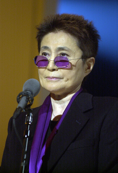 "Yoko Ono rehearsing for  ""Come Together - A Night of John Lennon"" Taping"