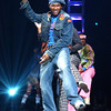 "Usher performing on the TV Show ""The Disco Ball"""