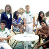 """The cast of """"Saved By The Bell"""" posing for me on the set."""