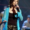 Martina McBride rehearsing for the American Music Awards