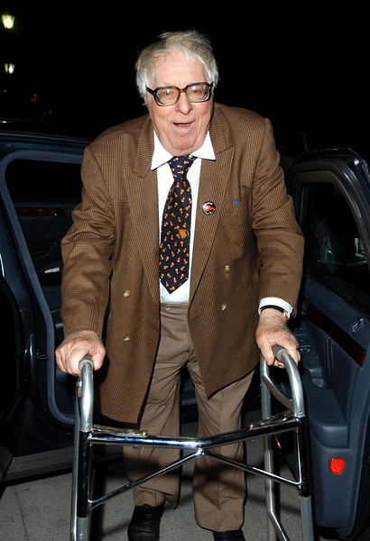 Ray Bradbury attending the opening his play, Fahrenheit 451