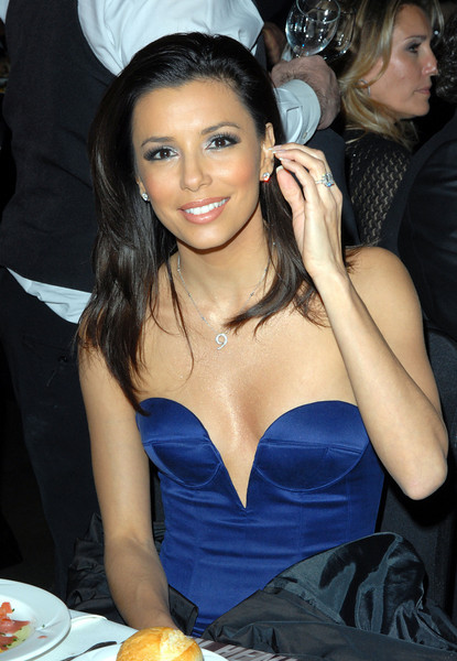 Eva Longoria attending the 14th Annual SAG Awards - Ron Wolfson