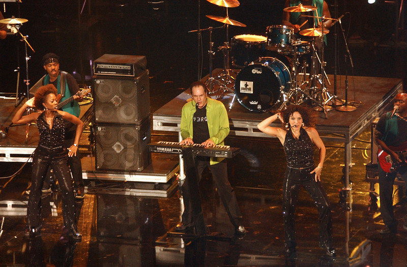 "KC & The Sunshine Band performing on the TV show ""The Disco Ball"""