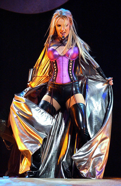 """Britney Spears Performing On The 31st Annual """"American Music Awards"""" Show - Ron Wolfson"""