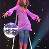 "Mya performing on the TV Show ""The Disco Ball"""