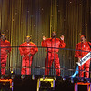 "The Spinners performing on the TV show ""The Disco Ball"""