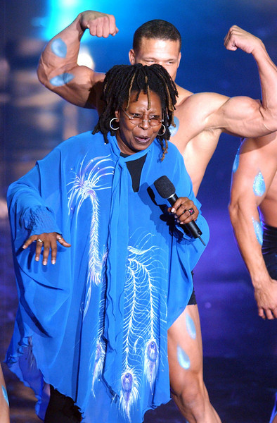 "Whoopi Goldberg performing ""It's Raining Men"" on  the TV Show ""The Disco Ball"""