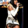Ashanti performing at the Neil Bogart Memorial Fund Show