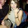 "Liz Hurley in the audience at  ""Come Together - A Night of John Lennon"""