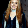 Lindsay Lohan arriving at the 2002 Neil Bogart Memorial Fund - Ron Wolfson