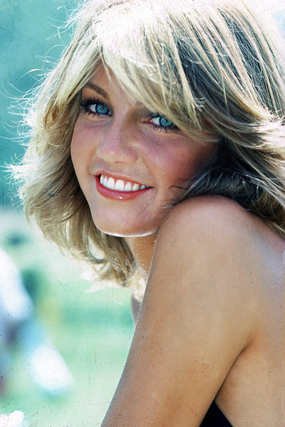 Heather Locklear during a private photo shoot