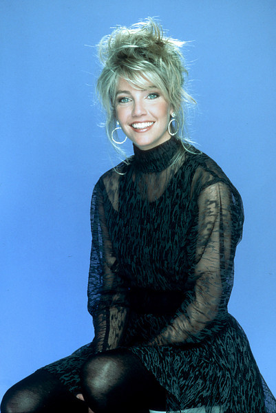 Heather Locklear during a Photo session while hosting Dick Clark's New Year's Rockin' Eve