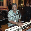 "Billy Preston rehearsing for ""Come Together - A Night of John Lennon"""