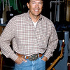 George Strait backstage at the 35th Annual Academy of Country Music Awards