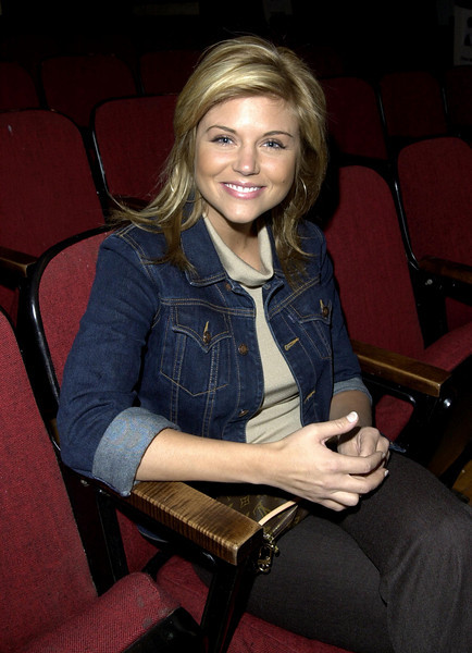 Tiffani Theissen at rehearsals for the American Music Awards
