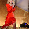 Dolly Parton performing on the TV show, Women Rock!