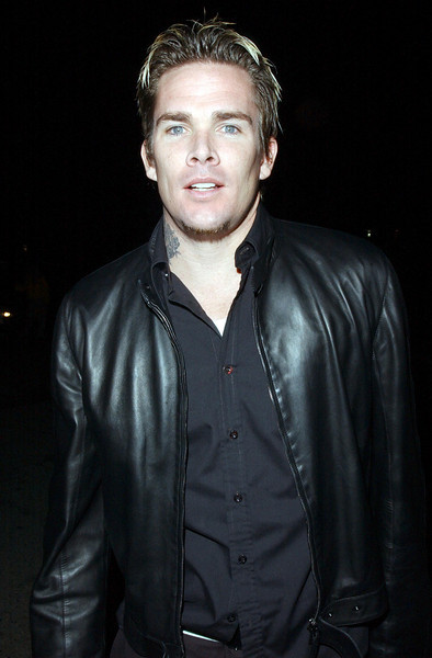Mark McGrath backstage at the Neil Bogart Memorial Fund Show