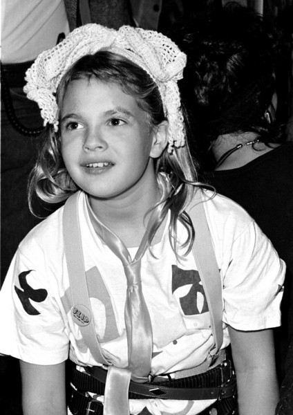 Drew Barrymore attends the after party of a Vanity (Denise Matthews)concert at The Palace in Hollywood.