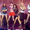 The Pussycat Dolls appearing on Dick Clark's New Year's Rockin' Eve