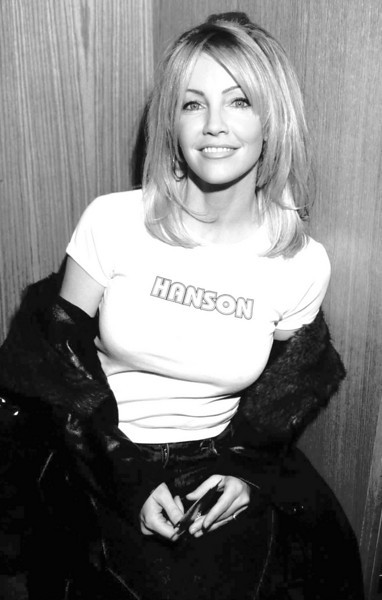 Heather Locklear backstage at the Nickelodeon Awards - Ron Wolfson