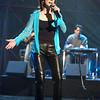 Martina McBride rehearsing for the American Music Awards