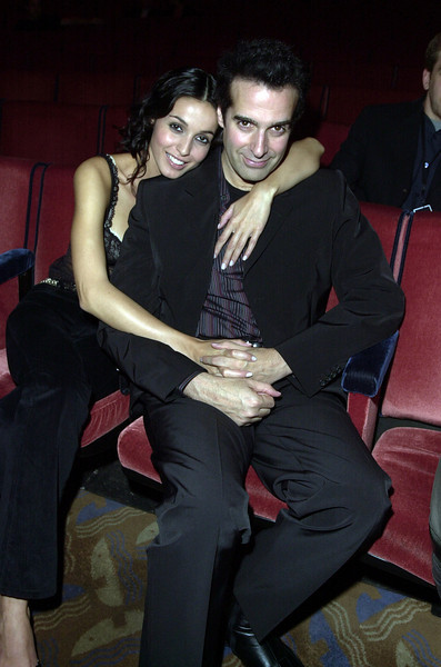 "David Copperfield attending  ""Come Together - A Night of John Lennon"""