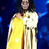 "Whoopi Goldberg rehearsing ""It's Raining Men"" for  the TV Show ""The Disco Ball"""