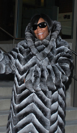 Patti LaBelle leaves rehearsal at the Kimmel Center