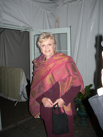 Angela Lansbury arriving at Tavern on the Green