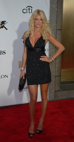 Playboy model Victoria Silstedt at the Conde Nast Media Group;s 4th Annual Fashion Rocks at Radio City on September 6, 2007 in New York  City. (Photo Credit: HughE Dillon)
