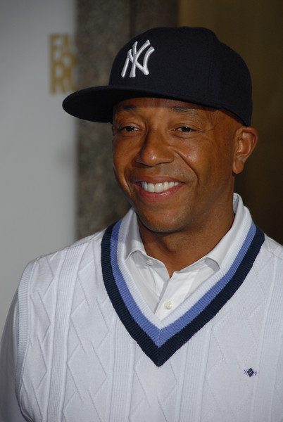 Russell Simmons arrive at Conde Nast Media Group's 4th Annual Fashion Rocks at Radio City on September 6, 2007 in New York City. (Photo Credit: HughE Dillon)