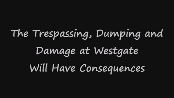 Trespass Warning