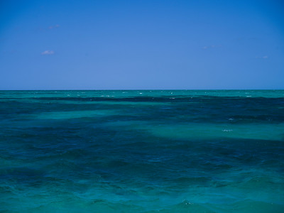 Seascape, Caribbean Sea, Belize