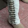 Leg of a person, Centro, Dolores Hidalgo, Guanajuato, Mexico