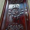 Detail of door of a house, Zona Centro, San Miguel de Allende, Guanajuato, Mexico