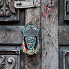 Detail of door knocker, Zona Centro, San Miguel de Allende, Guanajuato, Mexico