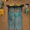 Detail of shutters in a closed window of house, Zona Centro, San Miguel de Allende, Guanajuato, Mexico