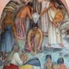 Mural on wall, University School of Fine Arts, San Miguel de Allende, Guanajuato, Mexico