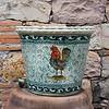 Close-up of a decorative urn, Fabrica La Aurora, San Miguel de Allende, Guanajuato, Mexico