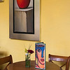 Chairs and table in cafe, Belmond Casa de Sierra Nevada, San Miguel de Allende, Guanajuato, Mexico