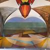 David Alfaro Siqueiros murals at University School of Fine Arts, San Miguel de Allende, Guanajuato, Mexico