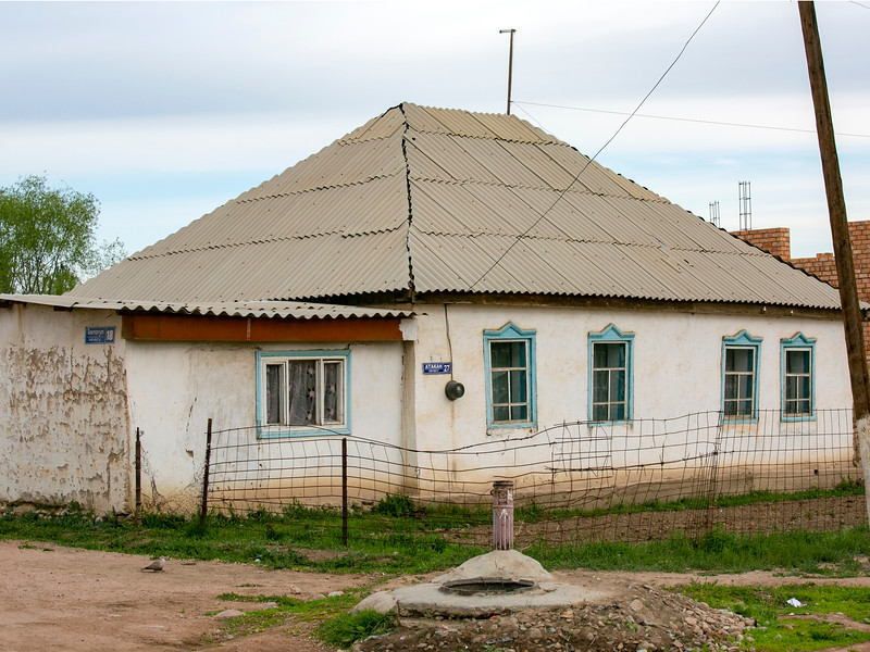 Typical village architecture