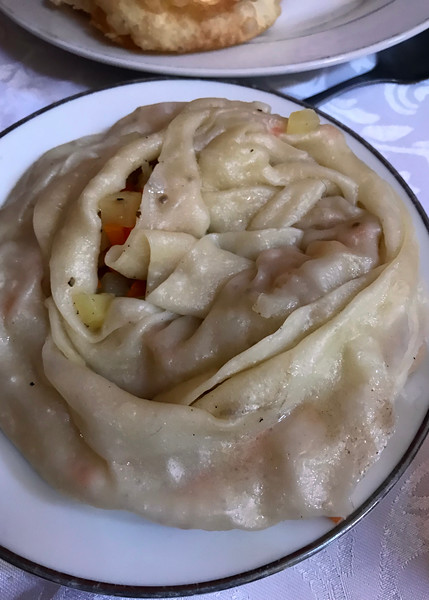 Meat-filled dumpling