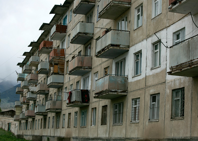 Aging Soviet architecture