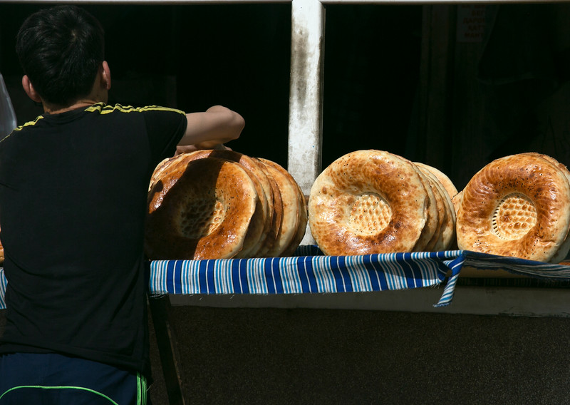 Non, traditional Tajik bread