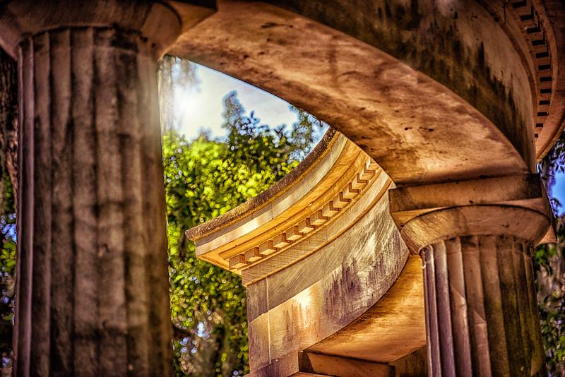 """ETC-3462-WPP1691  """"Sunlit Columns"""""""